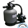 """PACK POOL EMAUX 14"""" BOMBA 0,20 HP"""